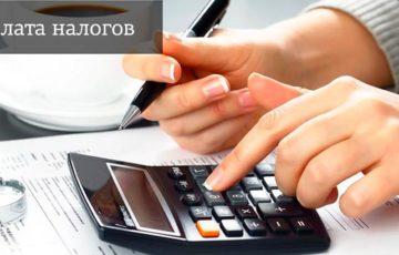 Оплата налогов через «Госуслуги»