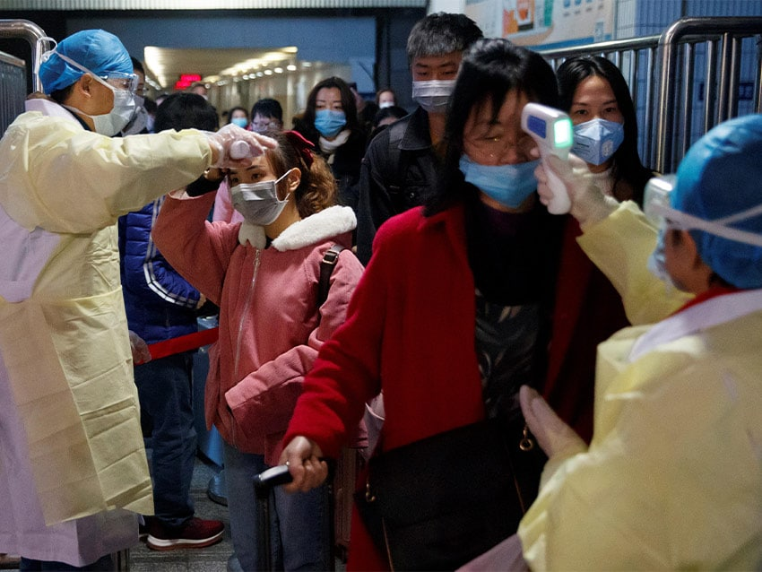 Вспышка коронавируса